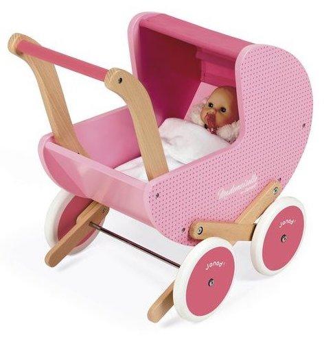 Landau vintage pour jouer à la poupée