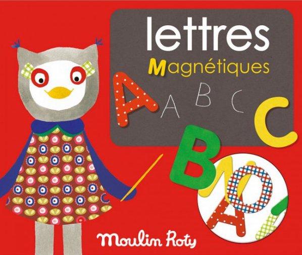 Lettres Magnétiques pour apprendre l'alphabet