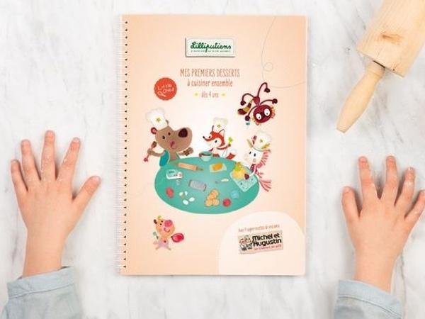 livre de pâtisserie little chef lilliputiens