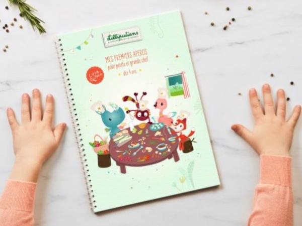 livre de recettes apéro little chef lilliputiens
