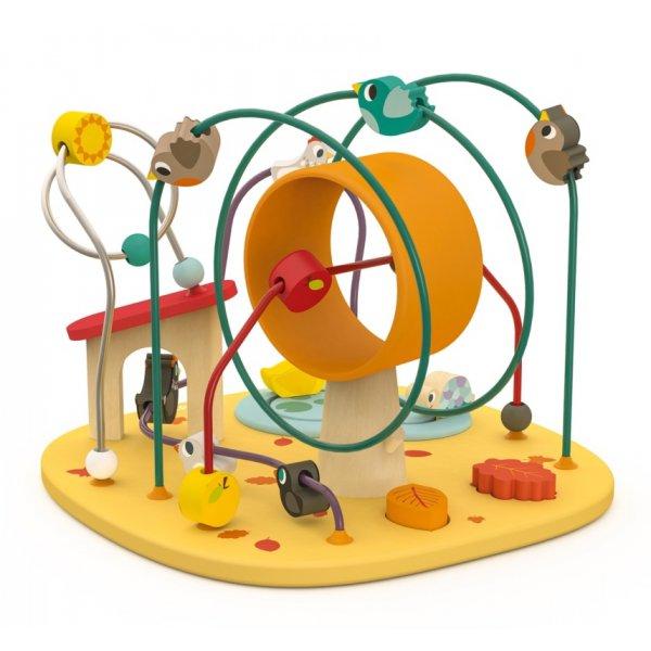 Boulier en bois coloré pour les enfants