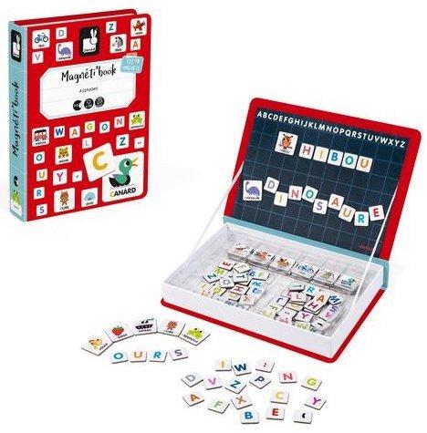 Jeu Magnetibook Alphabet pour apprendre les lettres