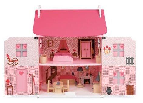 Maison pour jouer à la poupée