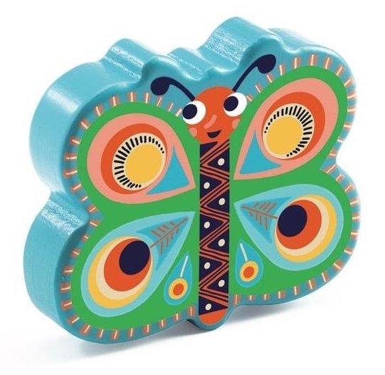 Maracas en forme de papillon pour les enfants
