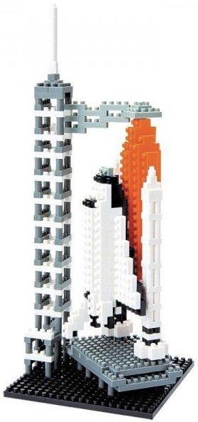 Jeu de construction sur le thème fusée