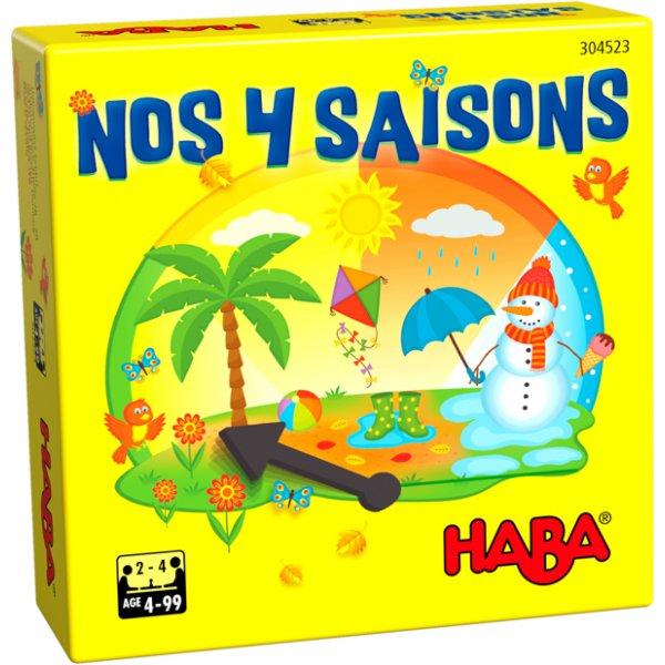 Jeu de société pour les enfants sur le thème des saisons