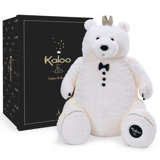 Ours blanc en peluche pour les enfants