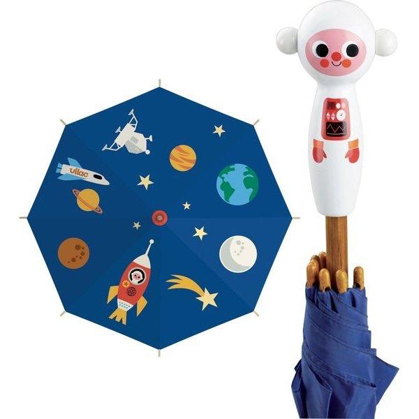 Parapluie enfant sur le thème de l'espace