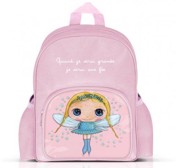 Sac à dos pour rose pour fille pour école maternelle