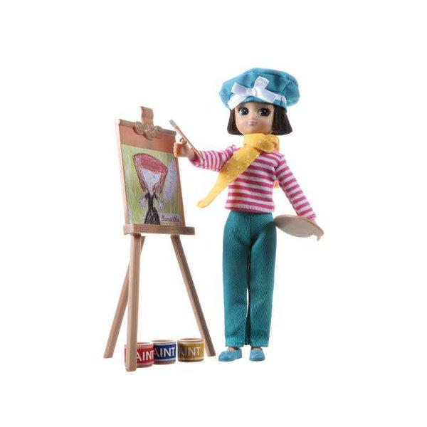 Poupée artiste peintre pour petite fille