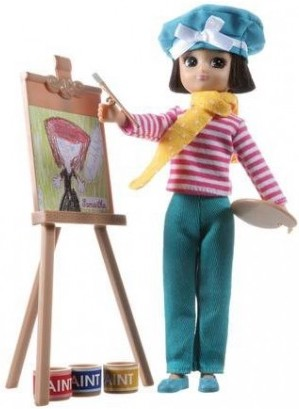 Poupée Lottie Artiste peintre