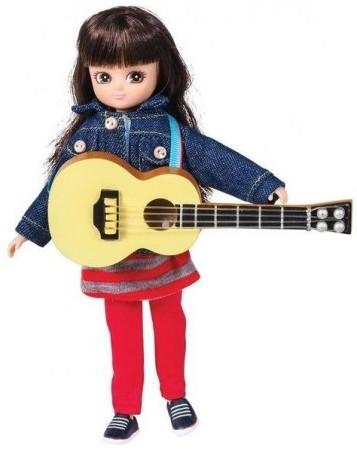 Poupée Lottie guitariste