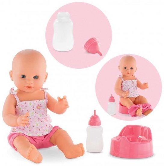 Poupon qui fait pipi pour jouer à la poupée