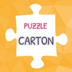 puzzle carton la poule a à pois