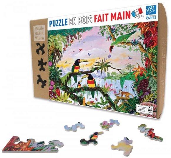 Puzzle original en bois pour les enfants