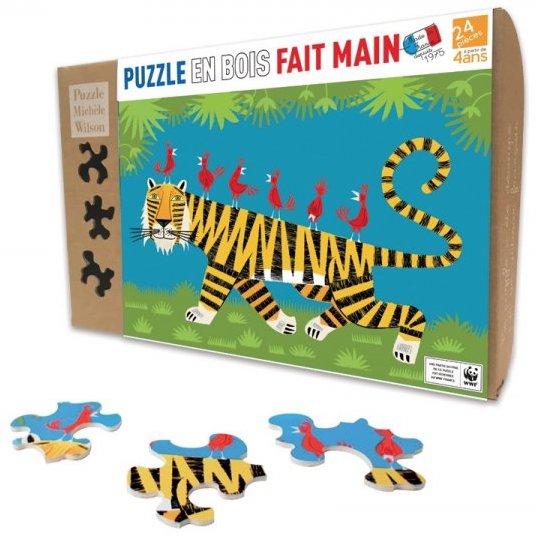 Puzzle en bois écologique pour les enfants