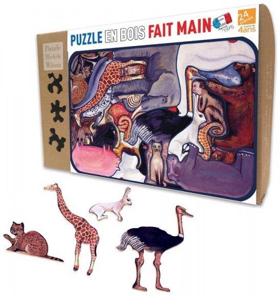 Puzzle écologique pour les enfants