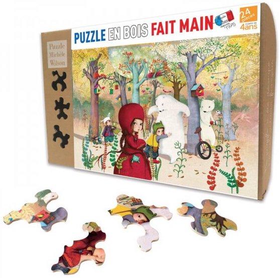 Puzzle en bois pour les enfants de 4 ans