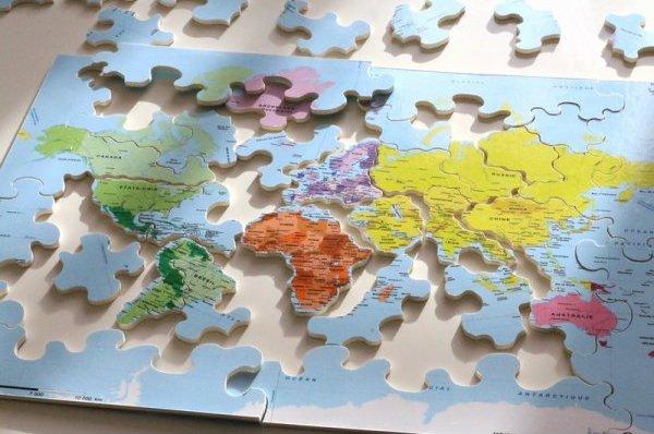 Puzzle écologique en bois et éducatif