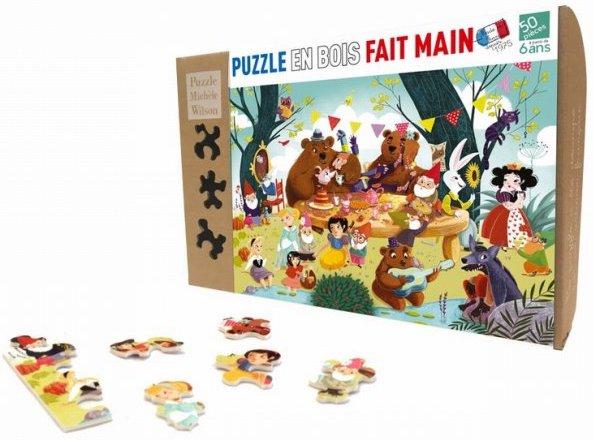 Puzzle 50 pièces il était une fois de PMW