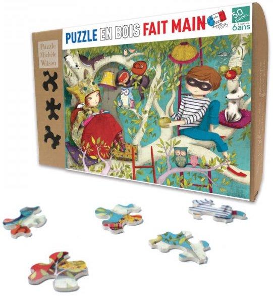 Puzzle en bois pour les enfants de 6 ans