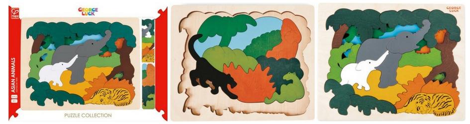 Puzzle en bois pour enfant de 3 ans