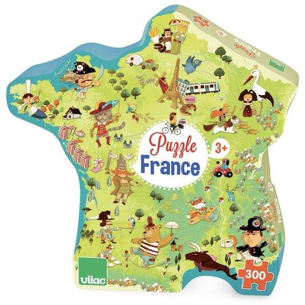 Puzzle pour apprendre la géographie
