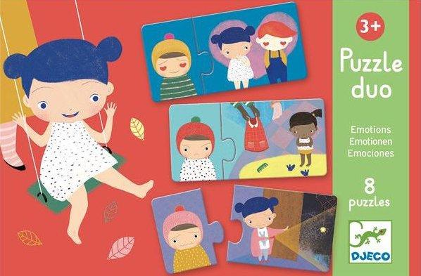 Puzzle sur le thème des émotions pour les enfants