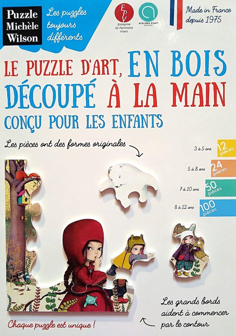 Puzzles en bois écologique et made in france
