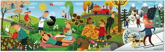 Puzzle panoramique pour les enfants