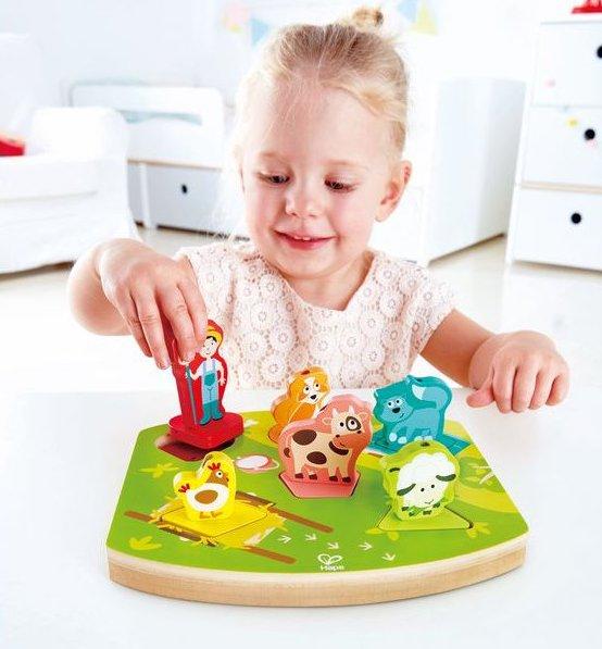 Puzzle sonore pour les enfants
