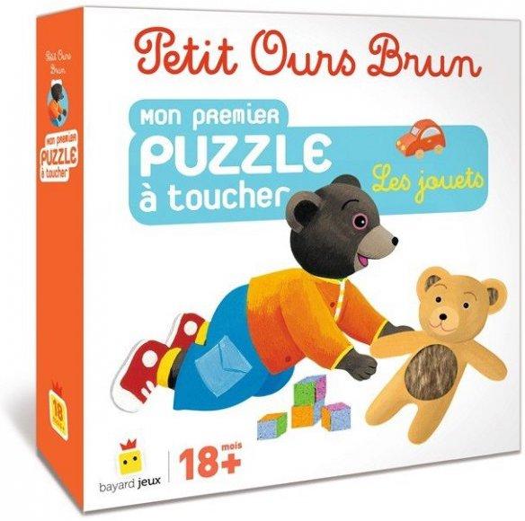 Puzzle à toucher Les Jouets Petit Ours Brun