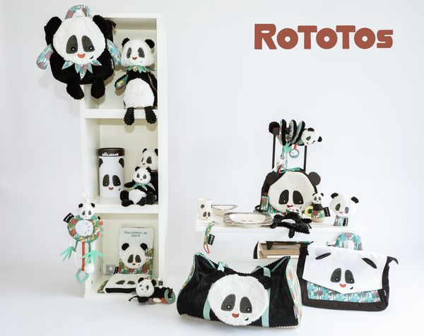 Collection Rototos le panda Les Déglingos
