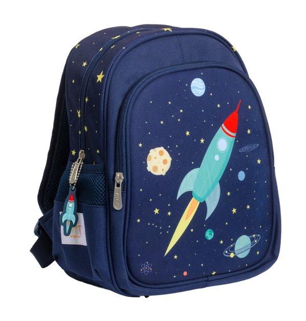 Sac à dos enfant sur le thème de l'espace