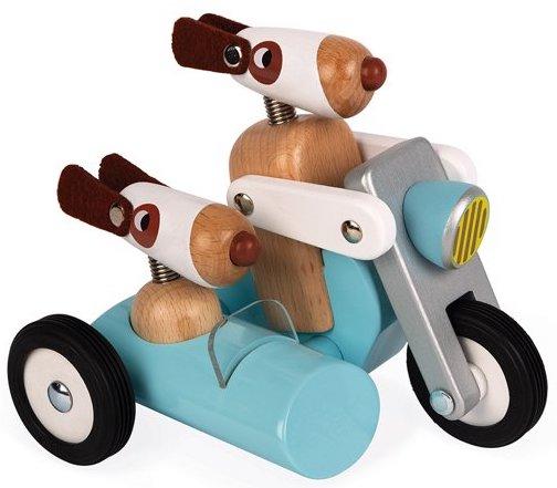 Side car en bois pour les enfants