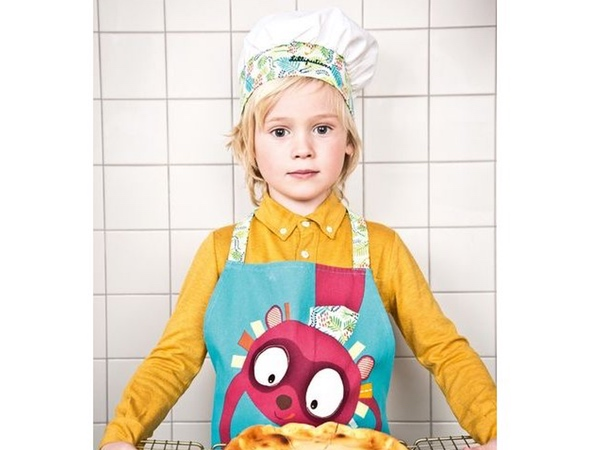 tablier et toque georges little chef lilliputiens