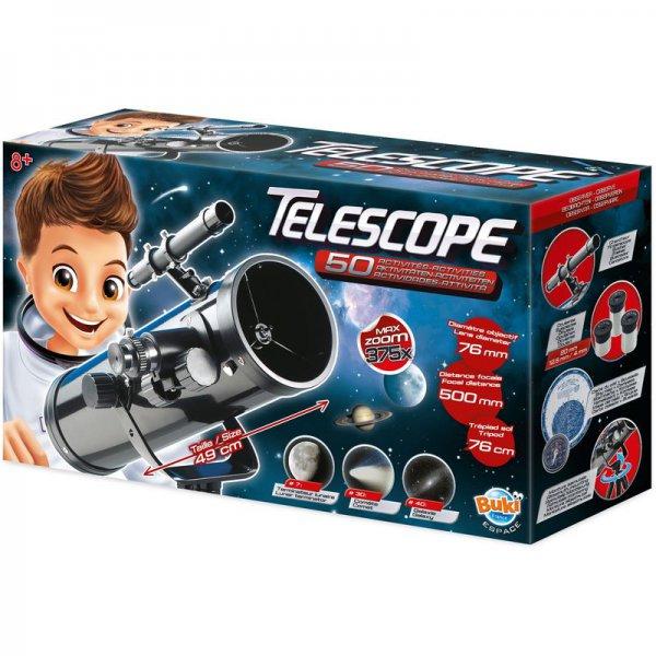TELESCOPE 50 ACTIVITES BUKI