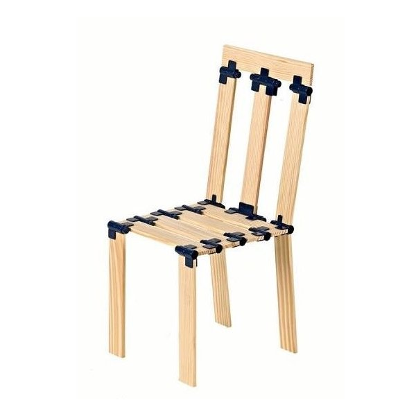 construction de chaise avec tomtect 420 pièces