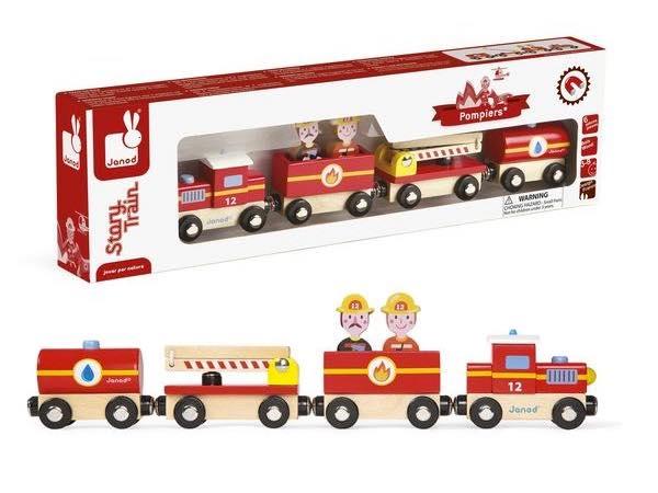 train story pompiers