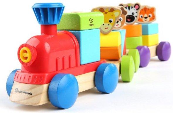 Train Discovery de la collection Baby Einstein de Hape