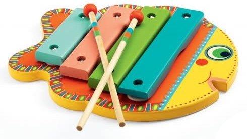 Xylophone en forme de poisson pour les enfants