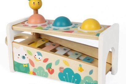 Les jouets de la collection Pure de Janod
